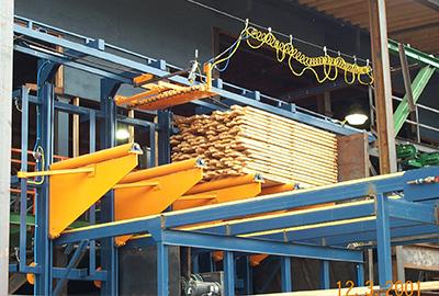 Lumber Unstacker